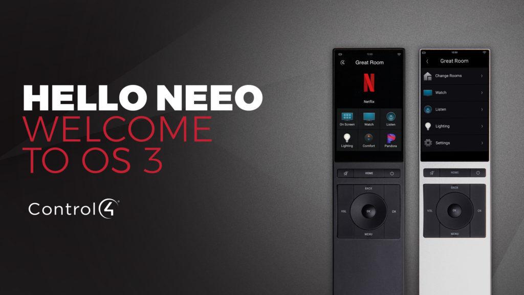 Control4 Neeo Remote Control